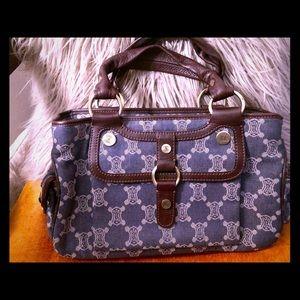 Handbags - Céline vintage denim EUC boogie bag  FRANCE